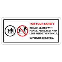 For Your Safety - No Dancing Warning