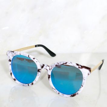 Marble At My Flow Sunnies Marble/ Mirror