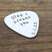 Glad I Picked You Guitar Pick
