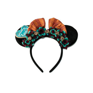 Ralph Mouse Ears Headband, Flower Mouse Ears, LED Headband, Vanellope Von Schweetz Mouse Ears, Minnie Ears Headband, Mickey Ears Headband