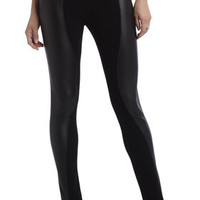 BCBG Shelby Contrast Faux-Leather Legging