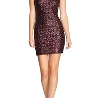 Dress the Population Scooped Back Sequin Body-Con Dress | Nordstrom