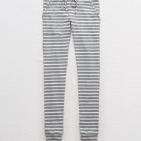 Aerie Plush Sleep Legging, Heather Gray