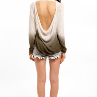Burn Out Slub Top $37
