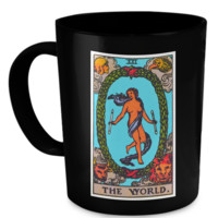 The World Tarot Card Coffee Cup Mug worldmug