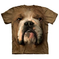 The Mountain Corp: Bulldog Face Tee Adult, at 40% off!