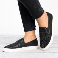 Cool Metallic Slip on Sneakers