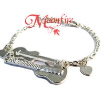 IF I STAY Guitar and Cello Bracelet