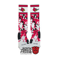 Custom Nike Elite Socks - Louisville Cardinals Custom Nike Elites - Louisville Socks, Custom Elites, Cardinals Socks, Louisville Basketball