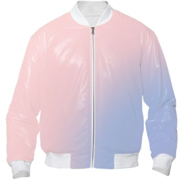 Rose Quartz and Serenity Bomber Jacket