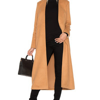 VIVIAN CHAN Cuttrell Coat in Cork | REVOLVE