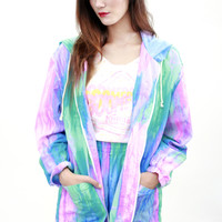 Watercolor Windbreaker