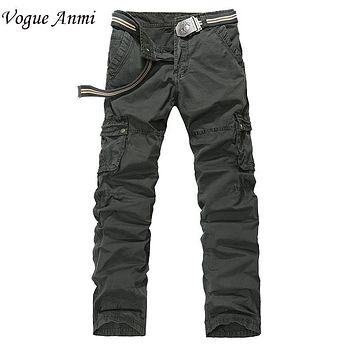 Vogue Anmi Brand Hot Mens Casual Military Army Cargo Camo Combat Style Pants Toursers size 29-38 Mens Cargo Short Pants,8325#