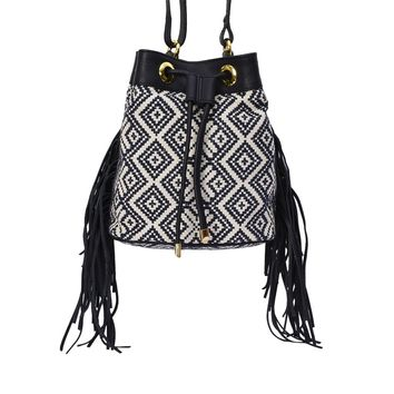 Phive Rivers Women's Jacquard Fabric Crossbody Bag -PRU1365