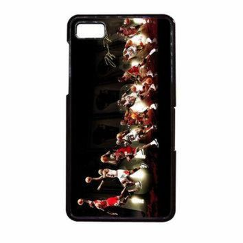 DCKL9 Michael Jordan NBA Chicago Bulls Dunk BlackBerry Z10 Case