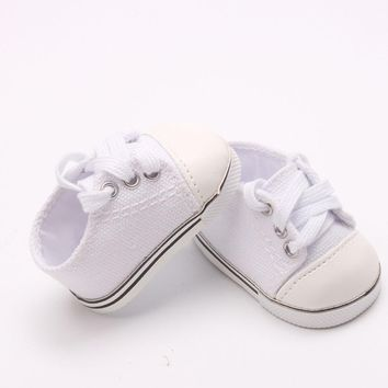 "Doll shoes ,bue sport leisure doll shoes for 18"" inch american girl doll for baby gift 2601"