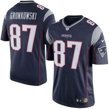 Men's New England Patriots Rob Gronkowski Nike Red Vapor Untouchable Limited Player Jersey