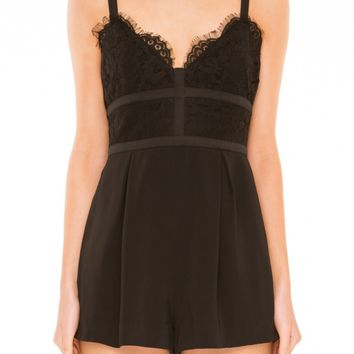 Keepsake INTERLUDE LACE PLAYSUIT