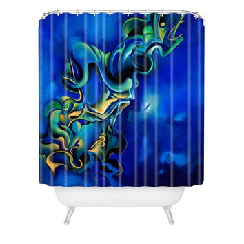 Brian Wall Fine Art Luminosity Shower Curtain