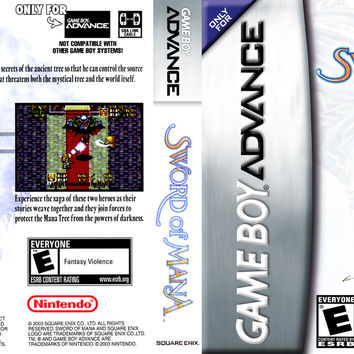 Sword of Mana - GameBoy Advance (Game Only)