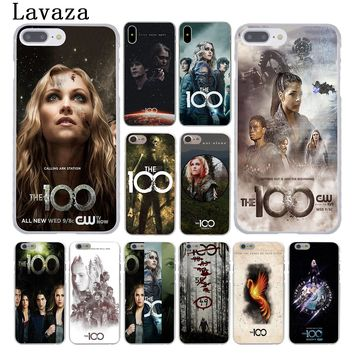 Lavaza The 100 Hundred Tv Shows Hard Cover Case for Apple iPhone 8 7 6 6S Plus 5 5S SE 5C 4 4S X 10 Coque Shell