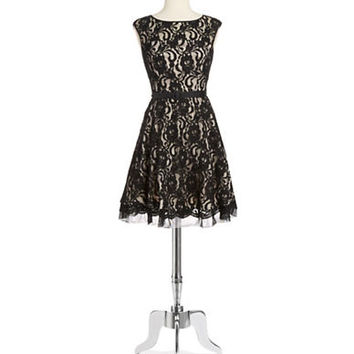 Eliza J Lace Party Dress