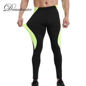 High Elastic Basketball Compression Leggings Quick Dry Mens Compression Leggings Plus Size 3XL Men's Running Tights Sweatpants
