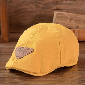 CREYONJ children cotton Beret unisex bonnet  hat baby fashion warm caps boy girl cap kids baseball cap baby boy sun hat