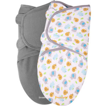 Walmart: Garanimals SwaddleMe Infant Wrap, 2-Pack, Sassy Safari, Size 0-6 Months