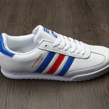 Adidas Beckenbauer Allround Leather Sport Shoes Sneakers-2