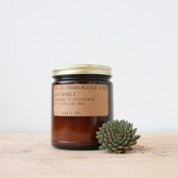 Frankincense & Oud 7.2 oz Soy Candle
