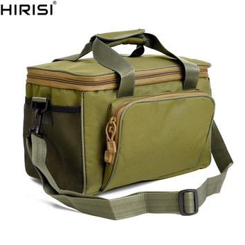 Fishing Bags Made by Canvas with Shoulder Belt Fishing Carry Bags Luggage for Carp Coarse Fishing