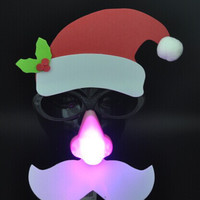 LED Lightning Christmas Face Mask [4915331204]