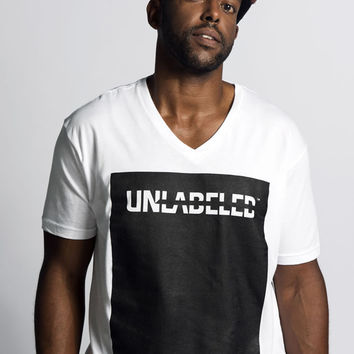 Unlabeled Ink Tee – Men's V-Neck