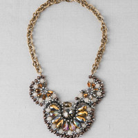CASABLANCA BEADED BIB NECKLACE