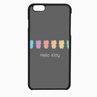 rainbow hello kitty FOR IPHONE 6 CASE NEWEST **