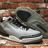 Air Jordan Retro AJ3 Wolf Grey 136064-004 US7-13
