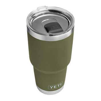 30 oz. DuraCoat Rambler Tumbler in Olive Green with Magslider™ Lid by YETI