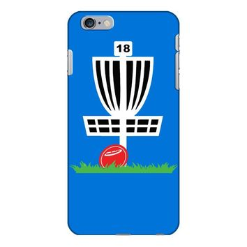 disc golf frisbee leaning on target basket innova iPhone 6/6s Plus Case