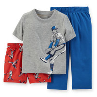 3-Piece Jersey & French Terry PJs