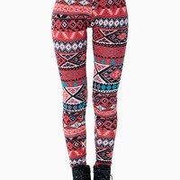Soft Tones Tribal Legging