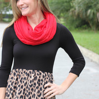 Infinity Scarf - Red