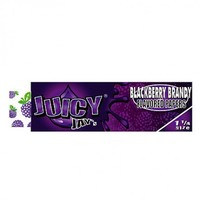 Juicy Jay's Blackberry Brandy Regular Size Rolling Papers - Single Pack