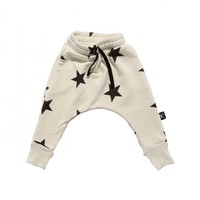 Star Baggy Pants / White - GIRL - Products : Fawn Shoppe - Global Boutique For Unique Children's Designs