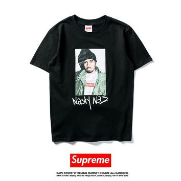 Cheap Women's and men's supreme t shirt for sale 85902898_0112