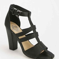 Sol Sana Niki Caged Heeled Sandal- Black