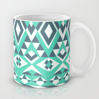 Tribal Simplicity Mug by Pom Graphic Design