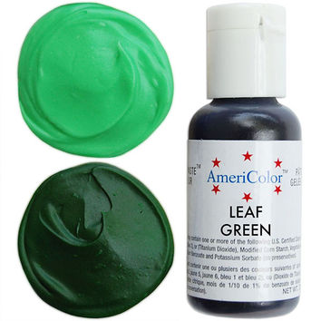 Holiday Green Gel Paste Food Color