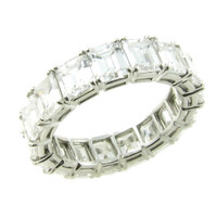 Harry Winston Diamond Platinum Eternity Band