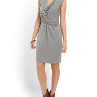 Cap Sleeve Drape Jersey Dress - Women - T.J.Maxx